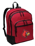 UofL Backpack CLASSIC STYLE Red