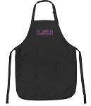 Official LSU Tigers Apron Black