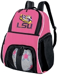 Girls LSU Tigers Soccer Backpack or LSU Volleyball Bag