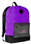 LSU Backpack CLASSIC STYLE Purple