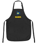 Official McNeese State Grandpa Apron Black