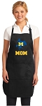 Official McNeese State Mom Apron Black