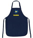 Official McNeese State Grandma Aprons Navy