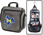 McNeese State Cowboys Toiletry Bag or McNeese State Shaving Kit Organizer for Him Gray
