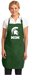 Official Michigan State University Mom Apron Michigan State Mom