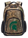 Michigan State RealTree Camo Backpack