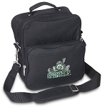 Michigan State Peace Frog Small Utility Messenger Bag or Travel Bag