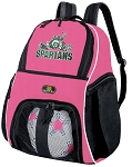 Girls Michigan State Soccer Backpack or Michigan State Peace Frogs Volleyball Bag