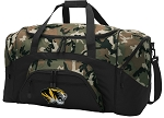 Official University of Missouri Camo Duffel Bags