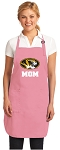 Deluxe University of Missouri Mom Apron Pink - MADE in the USA!