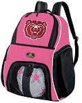 Girls Missouri State University Soccer Backpack or Missouri State Bears Volleyball Bag