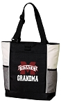 Mississippi State Grandma Tote Bag White Accents