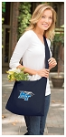 Middle Tennessee Tote Bag Sling Style Middle Tennessee Shoulder Bag Navy
