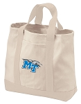 Middle Tennessee Tote Bags NATURAL CANVAS