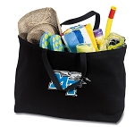 Jumbo Middle Tennessee Tote Bag Black