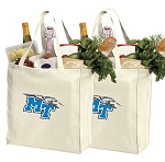 Middle Tennessee Shopping Bags Middle Tennessee Grocery Bags 2 PC SET