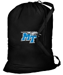 Middle Tennessee Laundry Bag Black