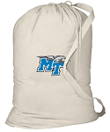 Middle Tennessee Laundry Bag Natural