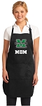 Official Marshall University Mom Apron Black