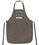 Official Marshall Grandma Apron Tan