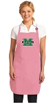 Deluxe Marshall University Apron Pink - MADE in the USA!