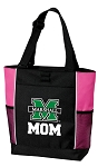 Marshall University Mom Tote Bag Pink
