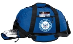 US NAVY Gym Bag - United States Navy Duffel BAG with Shoe Pocket Blue