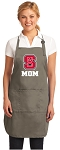 Official NC State Mom Apron Tan