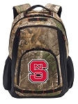 NC State RealTree Camo Backpack