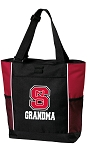 NC State Grandma Tote Bag Red