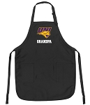 Official University of Northern Iowa Grandpa Apron Black