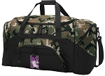 Official Northwestern University Camo Duffel Bags