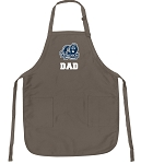 Official ODU Dad Apron Tan