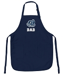 Official Old Dominion University Dad Aprons Navy