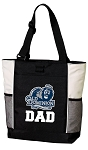 Old Dominion University Dad Tote Bag White Accents