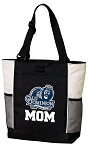 Old Dominion University Mom Tote Bag White Accents