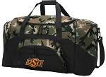 Official Oklahoma State Camo Duffel Bags