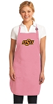 Deluxe Oklahoma State Apron Pink - MADE in the USA!