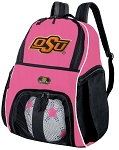 Girls Oklahoma State Soccer Backpack or OSU Cowboys Volleyball Bag