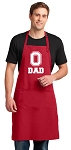 LARGE OSU Dad APRON OHIO STATE Father Gift!