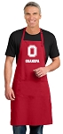LARGE OSU Grandpa APRON for MEN or Women RED