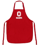 Official Ohio State Grandpa Aprons Buckeyes