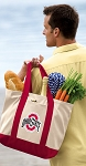 OSU Buckeyes Tote Bag Red