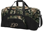 Official Purdue University Camo Duffel Bags