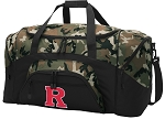 Official Rutgers University Camo Duffel Bags