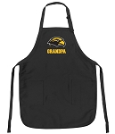 Official Southern Miss Grandpa Apron Black