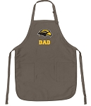 Official Southern Miss Dad Apron Tan