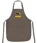Official Southern Miss Grandpa Apron Tan