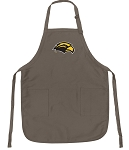 Official Southern Miss Logo Apron Tan