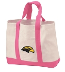 USM Southern Miss Tote Bags Pink